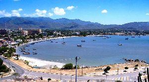 Bucht von Juan Griego auf der Karibikinsel Margarita