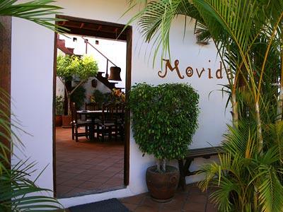 Außenansicht der Posada Movida