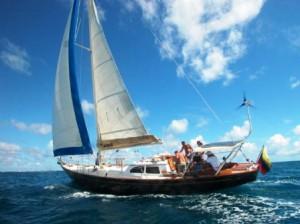 Segelboot Turpial in Los Roques