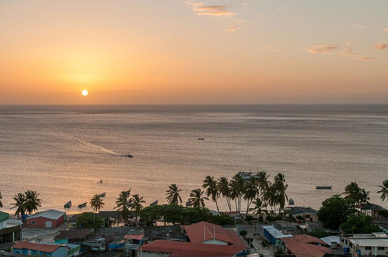 Sonnenuntergang bei Juan Griego auf Isla Margarita