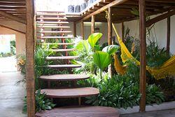 Treppe der Posada Galapagos in Venezuela