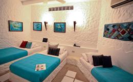 Zimmer der Posada Mediterraneo