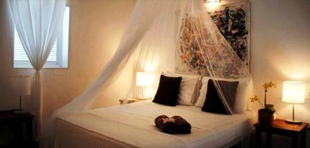 Zimmer der Villa Cacacol